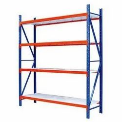 Long span storage rack