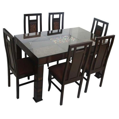 Sethiya Industries Teak Wood Modern Wooden Dining Table Rs 35500 Piece Id 14412153791