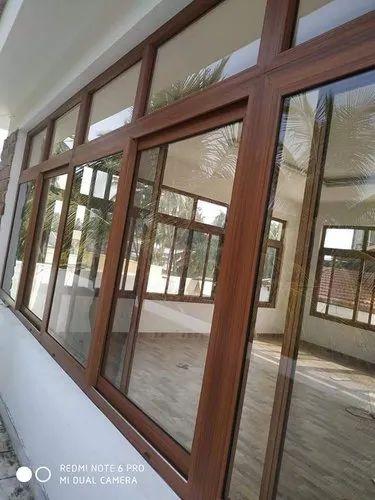 UPVC Wooden Window