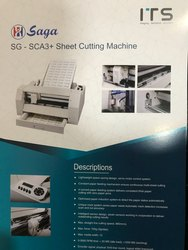 SAGA SG-SCA3 Sticker Scoring Machine, Max. Print Width: 13, Resolution: 0.01254