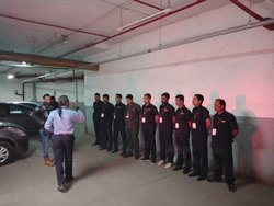 Corporate Male Para Military Security Guards services