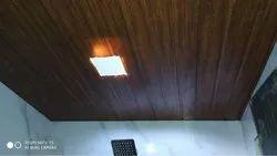 Plain Wooden PVC Ceiling Panel, For Commercial