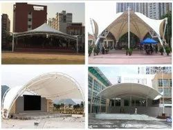 Architectural Tensioned Membrane Structure