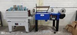 Semi Automatic L Sealer With Shrink Wrapping Machine