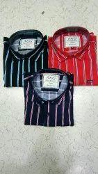 Stripe Cotton Strip Shirts