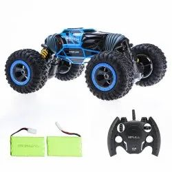ICW Leopard King Double Sided Flip RC Stunt Car (Multicolour, Large)
