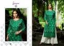 Ladies Silk Fabric With Bandhani Print Kurti With Palazzo