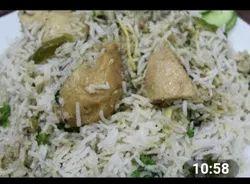 Silver Frozen Shahi White Chicken/Mutton Biryani, Packaging Size: 500 g