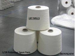 Polyester Yarn 1/28 Psy Wt  28/1 or 28