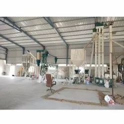 25 Ton Industrial Flour Mill Machine