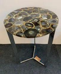 Semi precious stone table