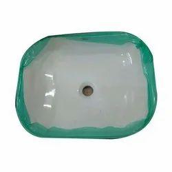 White Porcelain Bathroom Wash Basin