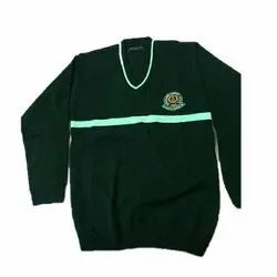 Green School Sweater