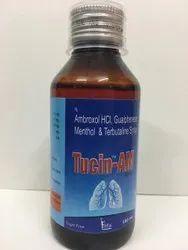 Terbutaline Guaiphenesin Ambroxol Menthol 100ml Sugarfree Cough Syrup