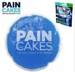 Mini Reusable Cold Therapy Ice Pack Pain Cakes Comfort to Body Blue