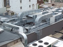 Galvanized Iron HVAC Duct