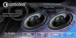 COMBODECK 45 Watt Rms CAR Speakers, Model Name/Number: Cd-Fc6f4, 1 Kg