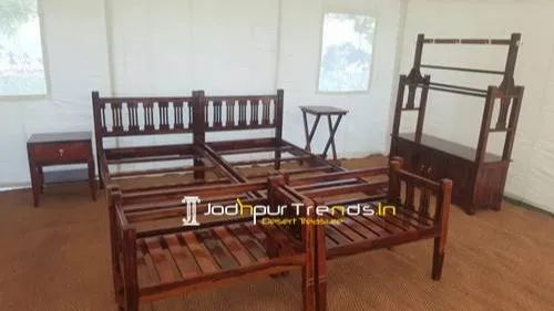 Jodhpur Trends Contemporary Tent Camp Room Furniture, Warranty: 1 Year