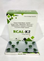 Calcium Citrate Malate, Calcitriol Omega-3 Fatty, L-Methylfolate Softgel Capsule