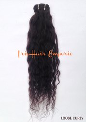 Loose Curly Human Hair Extension