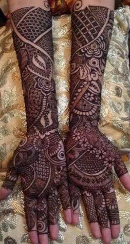arabic bridal mehendi design