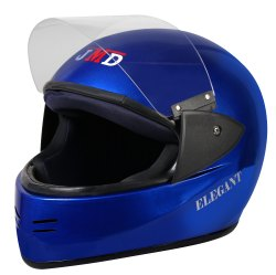 Blue Elegant Full Face Helmet