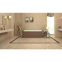 Double Charged Vitrified Floor Tile, Packaging Type: Box, Thickness: 3-5 mm