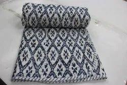 Handmade Kantha Quilt Baby Quilt