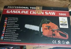 Petrol Chain Saw, 36.3cc