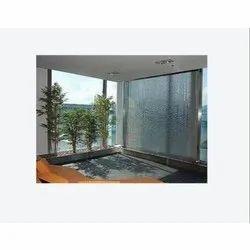 Glass Curtain Water Fountain