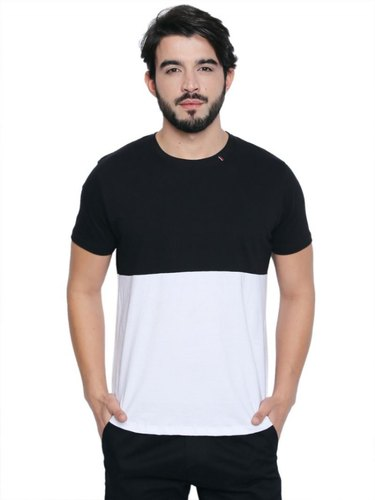 Mens Half Sleeve Casual Wear T-Shirt