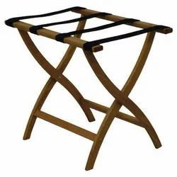 Brown And Black Easton Luggage Rack For Hotel