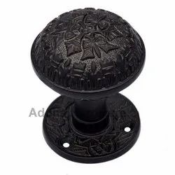 Dabbasheth Silicon Bronze Door Knob with Rose