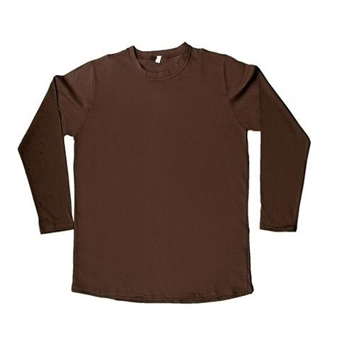 9f88c738 Brown Casual Wear Mens Plain Round Neck Full Sleeve T Shirt, Rs 135 ...