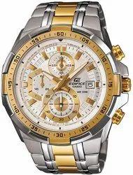 Silver Round Casio Edifice Chronograph Multi Dial Men's Watch - EFR-539S