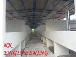 Steel Dairy Form Shed