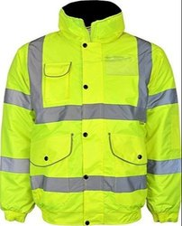 Polyester Reflective Safety Vest ( 60GSM 2V1H with 1 Tape)