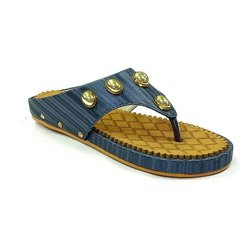Ekta Plain Synthetic Ladies PU Slipper, Size: 4-7