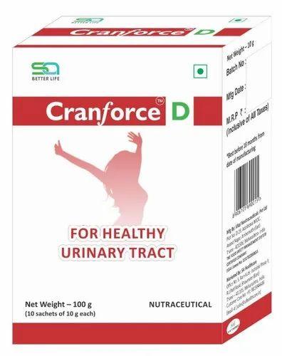 Cranforce D Nutraceutical Sachet