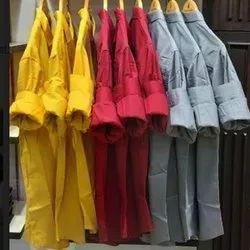 Rig Anthony Mens Plain Cotton Shirt, Waist Size: 40 Inch, Handwash