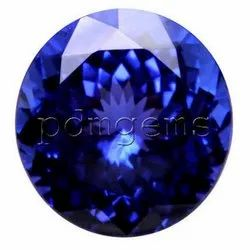 Tanzanite Faceted Round Cut Gemstone