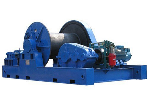 R K Engineering Works Three Phase Electric Motor Winches, for Industrial