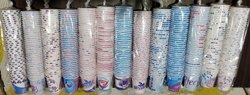 Welcome Multicolor Disposable Paper Cups, For Event and Party Supplies, Capacity: 65 Ml