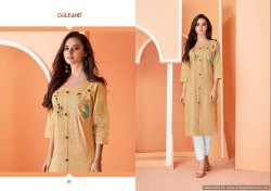 Fancy Handloom Cotton Kurti