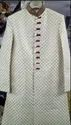 Men Embroidered Wedding Sherwani