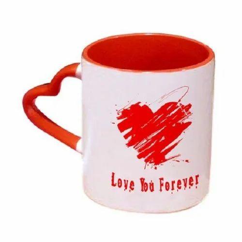 Ceramic Love Coffee Mug, Packaging Type: Box