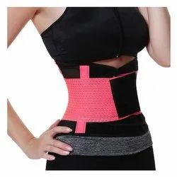 Polyester Slimming Belt Waist Shaper for Men & Women for Gym