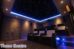 Fluorescent Electric Fiber Optic Lighting Shooting Stars and Waterfall Curtain Light