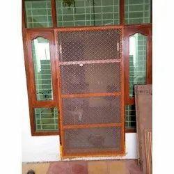 Exterior Wooden Jali Door