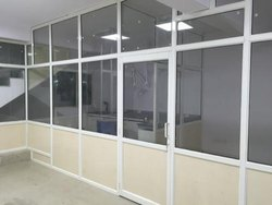 Powder Coated Aluminium Office Partition